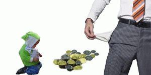 Для уменьшения выплаты алиментов где могу податьесли живем в разных городах