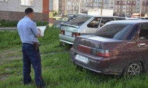 Штраф за парковку на газоне в 2019 году: определение и ответственность